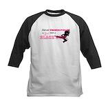 Girl karate Baseball Jersey