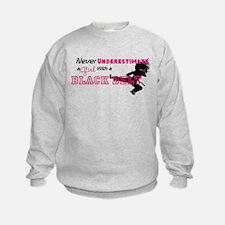 Funny Martial arts black belt Sweatshirt