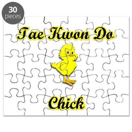 Tae Kwon Do Chick Puzzle