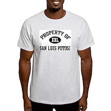 Property of San Luis Potosi Ash Grey T-Shirt