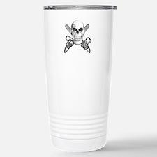 Skull and Chainsaws Travel Mug