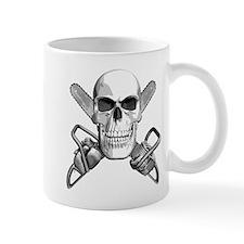 Skull and Chainsaws Mug