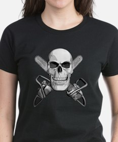 Skull and Chainsaws Tee