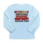 FINGERS WRAP DADDY Long Sleeve Infant T-Shirt