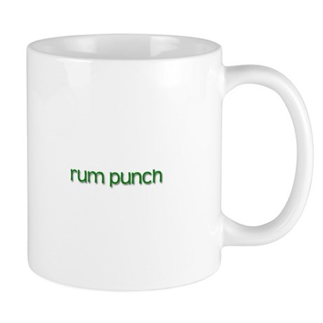 Rum Punch (Green) Small Mug