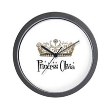 Princess Olivia Wall Clock