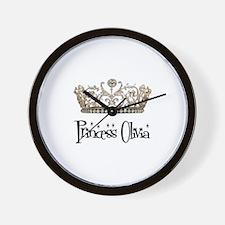 Princess Olivia Wall Clock