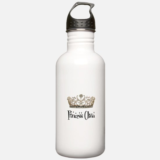Princess Olivia Sports Water Bottle