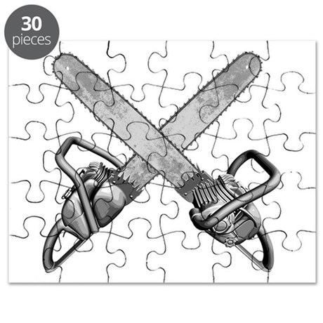 Crossed Chainsaws Puzzle