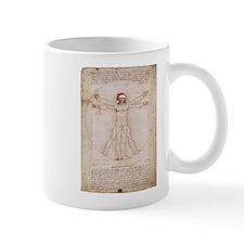 Vitruvian Claus Mug