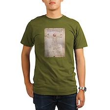 Vitruvian Claus T-Shirt