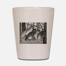 The Watchful One Shot Glass