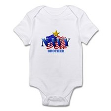 NAVY (2) Brother Infant Creeper