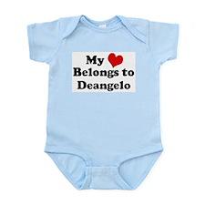 My Heart: Deangelo Infant Creeper