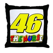 VR46nurse Throw Pillow
