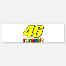 VR46nurse Bumper Bumper Sticker