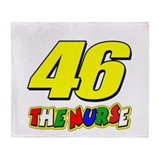 VR46nurse Throw Blanket