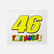 VR46nurse Throw Blanket