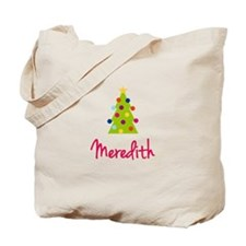 Christmas Tree Meredith Tote Bag