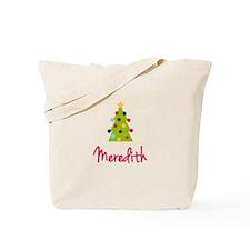 Christmas Tree Meredith Tote Bag
