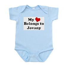 My Heart: Jovany Infant Creeper