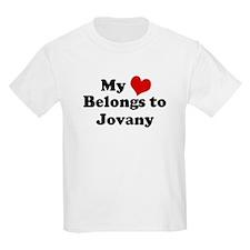 My Heart: Jovany Kids T-Shirt