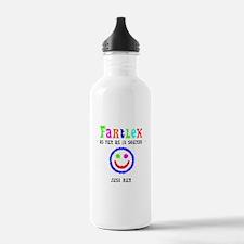 Funny Fartlek Water Bottle