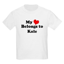 My Heart: Kole Kids T-Shirt