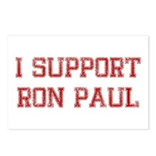 I Support Ron Paul Postcards (Package of 8)