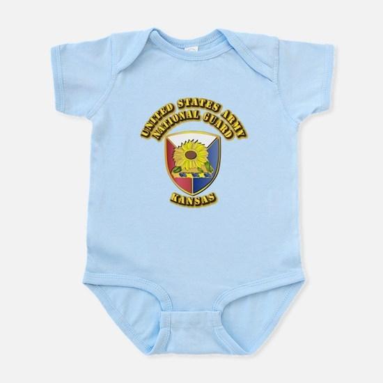 Army National Guard - Kansas Infant Bodysuit