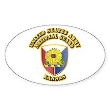 Army National Guard - Kansas Decal