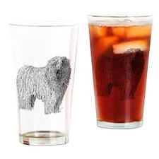 Komondor Drinking Glass