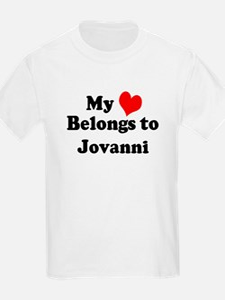 My Heart: Jovanni Kids T-Shirt
