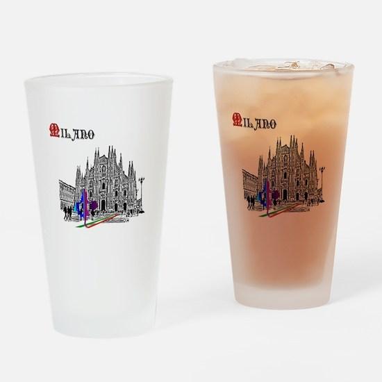 Milano Milan Italy Drinking Glass