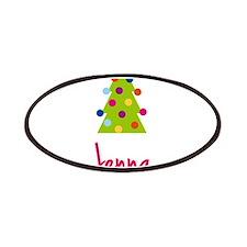 Christmas Tree Jenna Patches