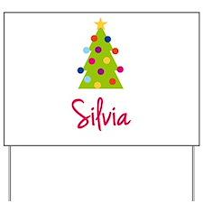 Christmas Tree Silvia Yard Sign