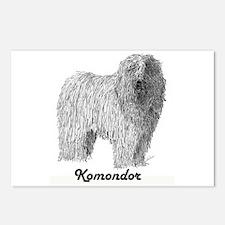 Komondor Postcards (Package of 8)