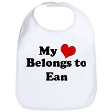My Heart: Ean Bib