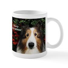 Merry Christmas Sheltie Mug