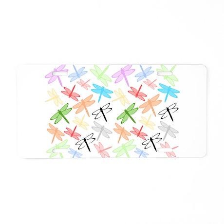Dragonflies Design Aluminum License Plate