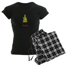 Christmas Tree Lucia Pajamas