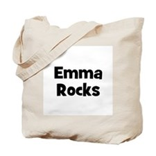 Emma Rocks Tote Bag