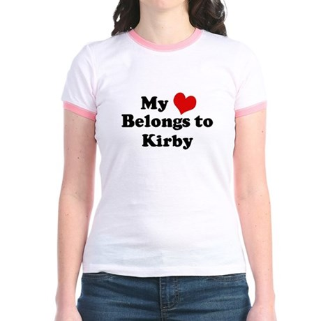 My Heart: Kirby Jr. Ringer T-Shirt