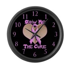 Show Me The Cure Large Wall Clock