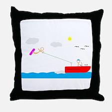 Unique Tubing Throw Pillow