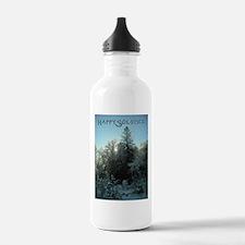 Happy Solstice Water Bottle