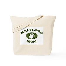 Malti-Poo Mom Tote Bag