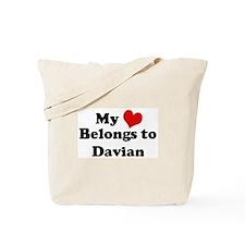 My Heart: Davian Tote Bag