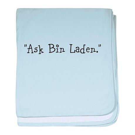Ask Bin Laden Baby Blankie