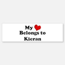 My Heart: Kieran Bumper Bumper Bumper Sticker
